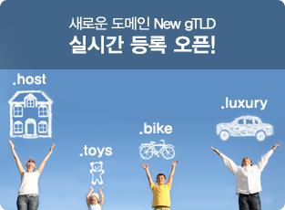 ���ο� ������ New gTLD �ǽð� ��� ����!